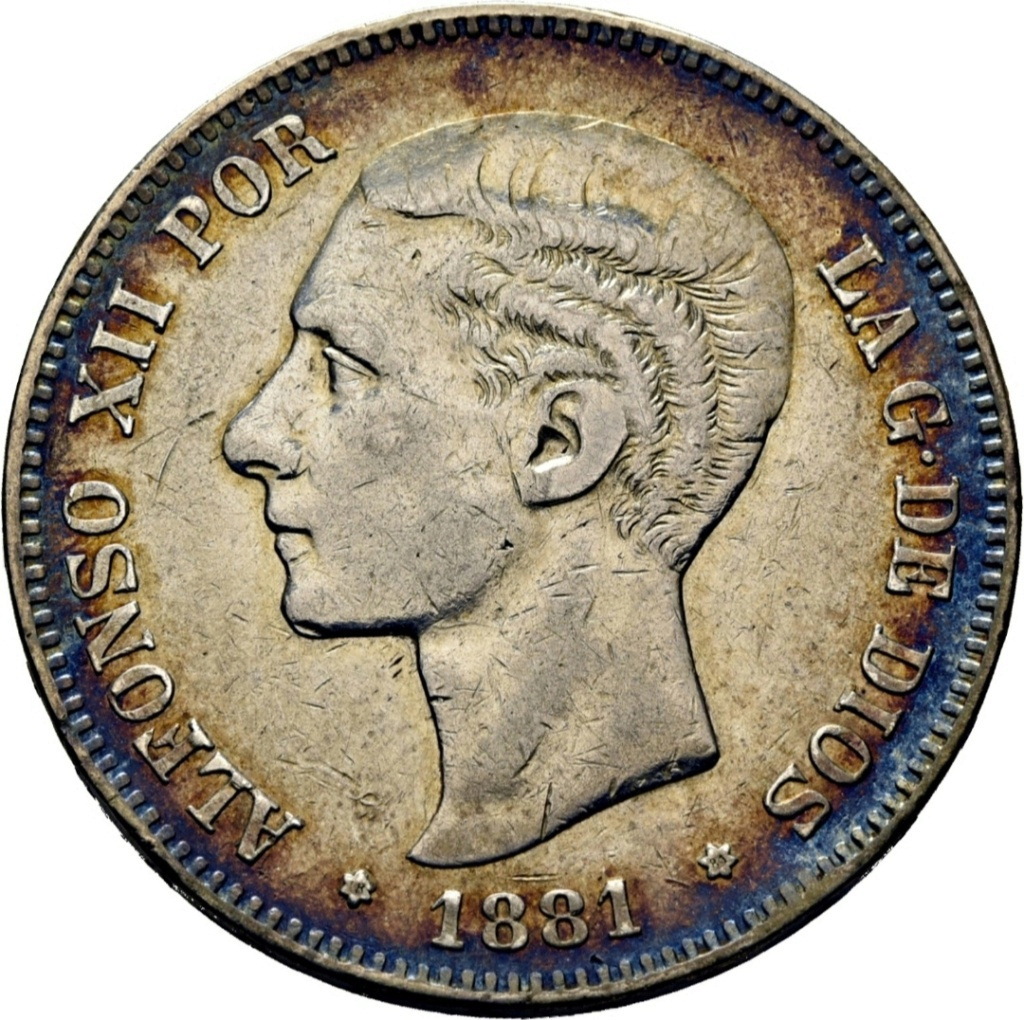 5 pesetas 1881 Untitl13