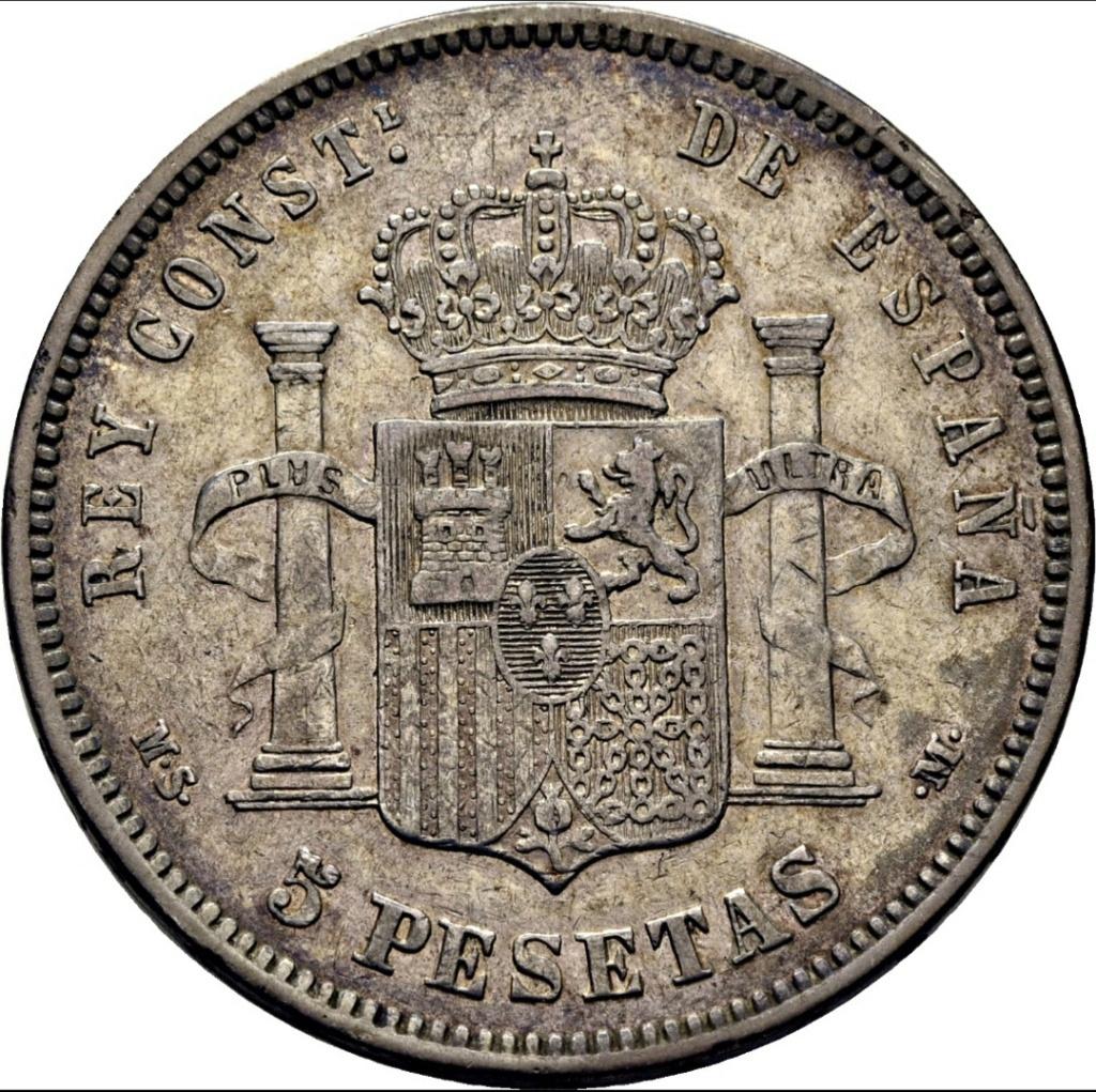 5 pesetas 1881 Untitl14