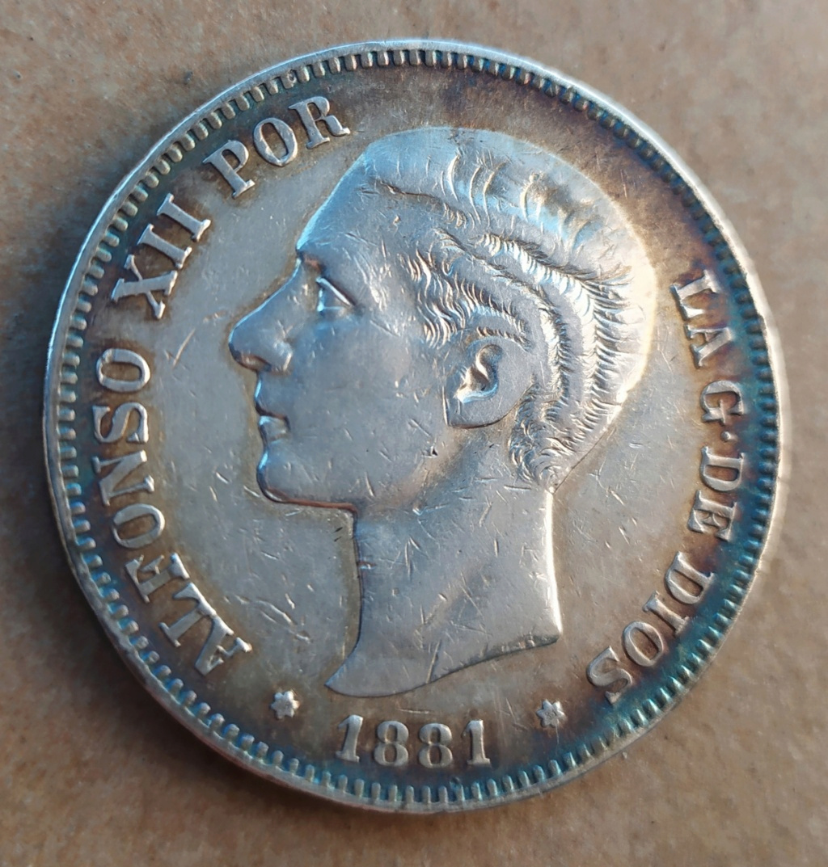 5 pesetas 1881 Untitl15
