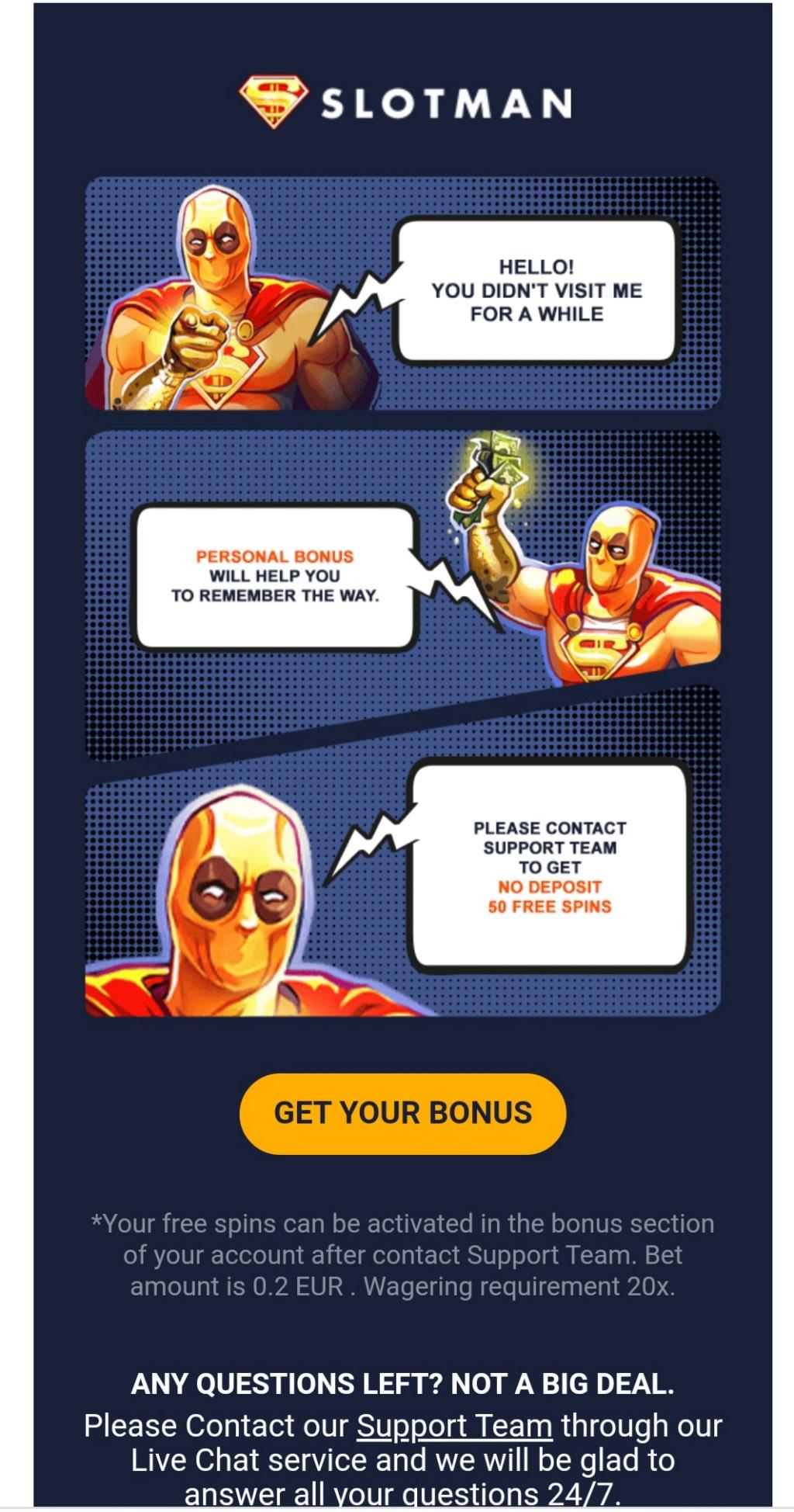 Slotman kasyno online darmowe promocje 20200810
