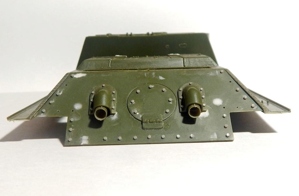 СУ-100, Т-34\85 (ЗВЕЗДА 1:35, снятые с призводства) на сентябрь 1944, Т-34\85 (MSD 1:35) завода 122 с башней завода 75. Dscn5812