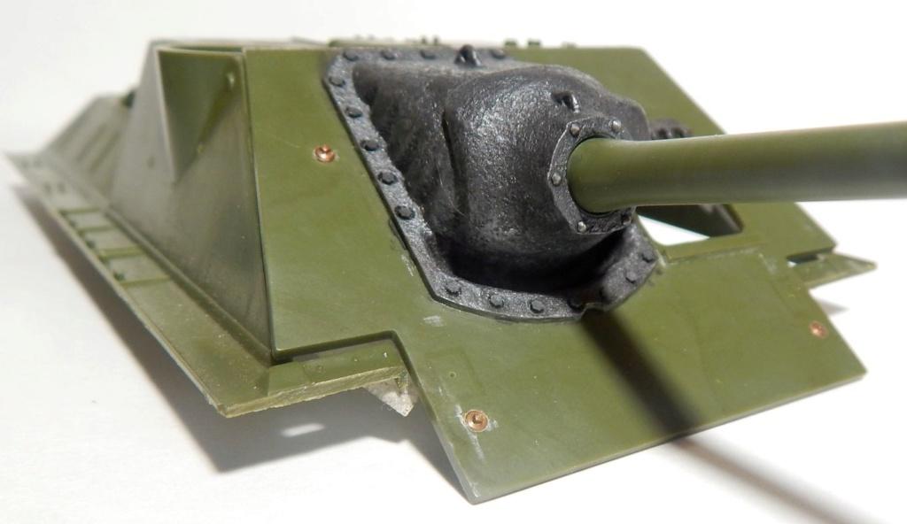 СУ-100, Т-34\85 (ЗВЕЗДА 1:35, снятые с призводства) на сентябрь 1944, Т-34\85 (MSD 1:35) завода 122 с башней завода 75. Dscn5816