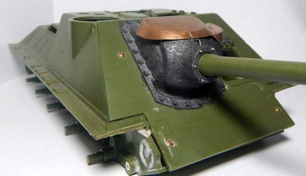 СУ-100, Т-34\85 (ЗВЕЗДА 1:35, снятые с призводства) на сентябрь 1944, Т-34\85 (MSD 1:35) завода 122 с башней завода 75. Dscn5830