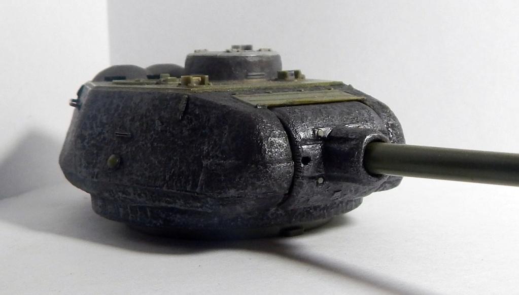 СУ-100, Т-34\85 (ЗВЕЗДА 1:35, снятые с призводства) на сентябрь 1944, Т-34\85 (MSD 1:35) завода 122 с башней завода 75. Dscn5911