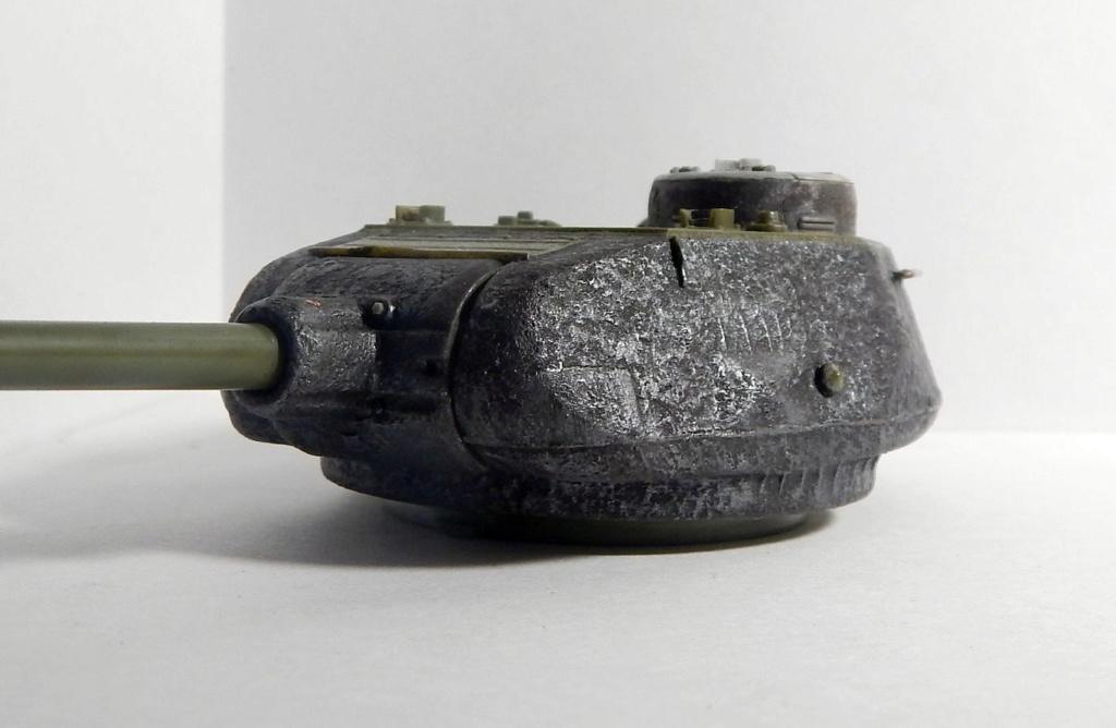 СУ-100, Т-34\85 (ЗВЕЗДА 1:35, снятые с призводства) на сентябрь 1944, Т-34\85 (MSD 1:35) завода 122 с башней завода 75. Dscn5912