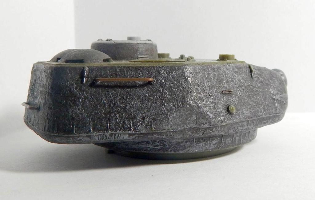 СУ-100, Т-34\85 (ЗВЕЗДА 1:35, снятые с призводства) на сентябрь 1944, Т-34\85 (MSD 1:35) завода 122 с башней завода 75. Dscn5913
