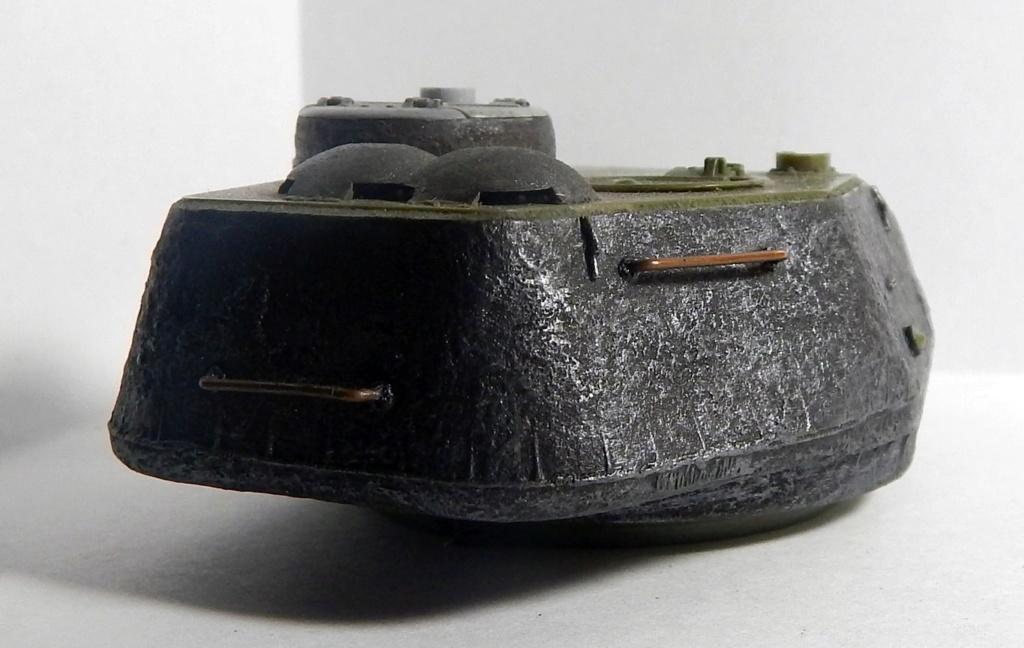 СУ-100, Т-34\85 (ЗВЕЗДА 1:35, снятые с призводства) на сентябрь 1944, Т-34\85 (MSD 1:35) завода 122 с башней завода 75. Dscn5915