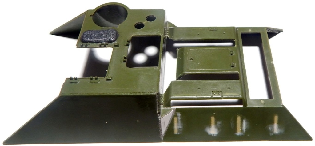 СУ-100, Т-34\85 (ЗВЕЗДА 1:35, снятые с призводства) на сентябрь 1944, Т-34\85 (MSD 1:35) завода 122 с башней завода 75. Dscn5924