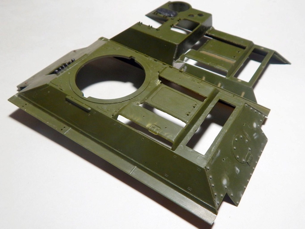 СУ-100, Т-34\85 (ЗВЕЗДА 1:35, снятые с призводства) на сентябрь 1944, Т-34\85 (MSD 1:35) завода 122 с башней завода 75. - Страница 2 Dscn5934