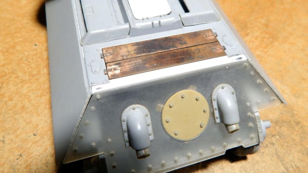 СУ-100, Т-34\85 (ЗВЕЗДА 1:35, снятые с призводства) на сентябрь 1944, Т-34\85 (MSD 1:35) завода 122 с башней завода 75. - Страница 2 Dscn5938