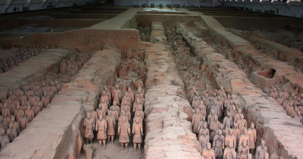 Терракотовая армия Китая Shixua10