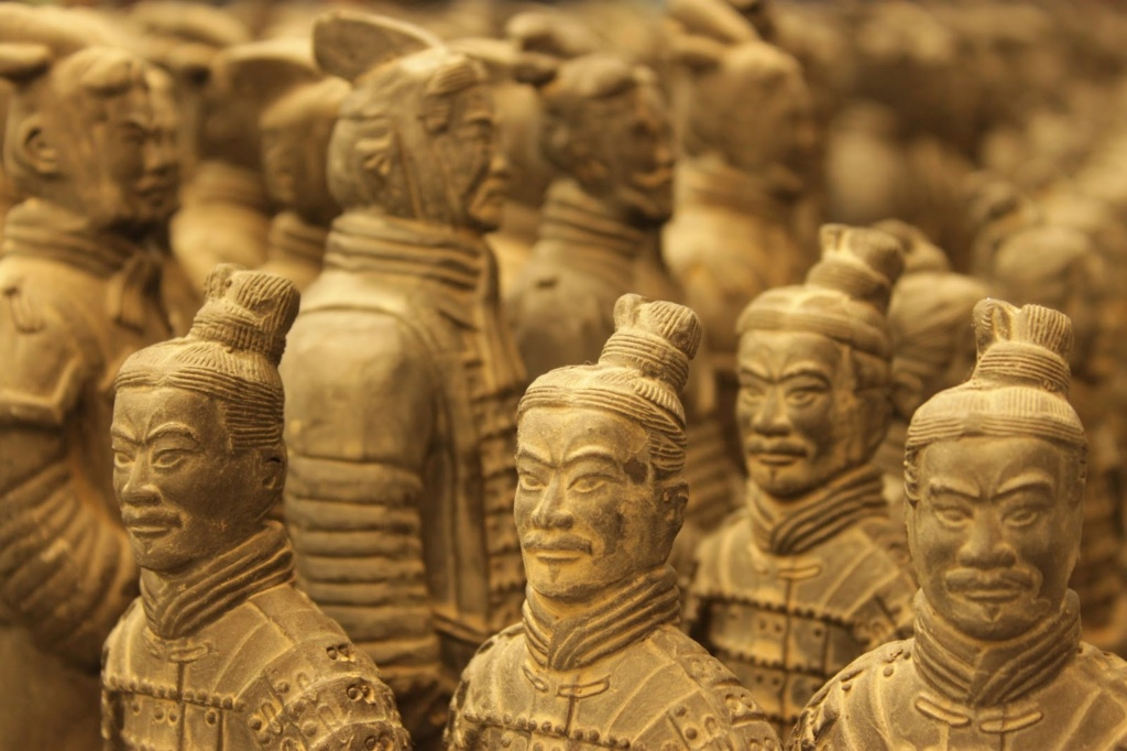 Терракотовая армия Китая Terrac10