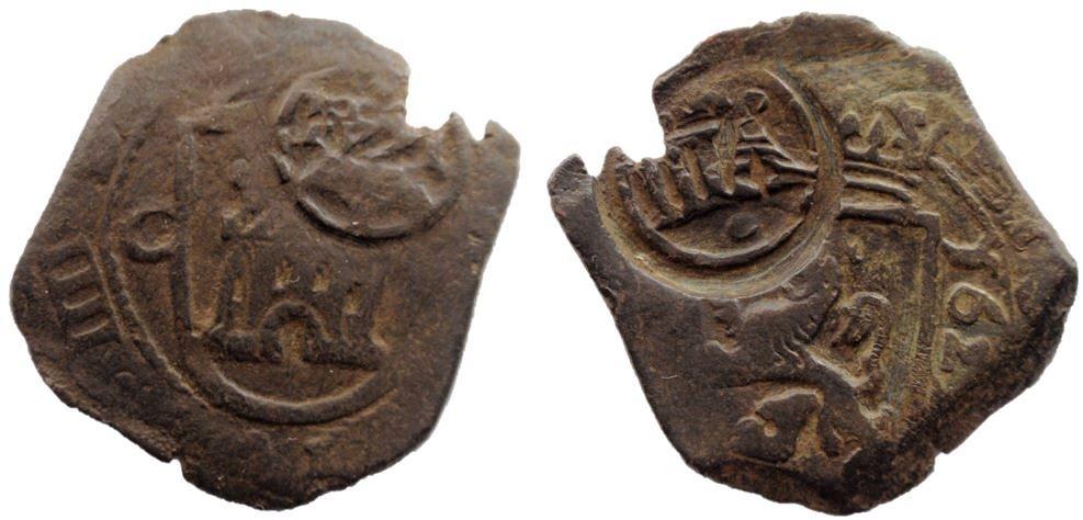 8 maravedís de Felipe IV con resello de 1641 14-10