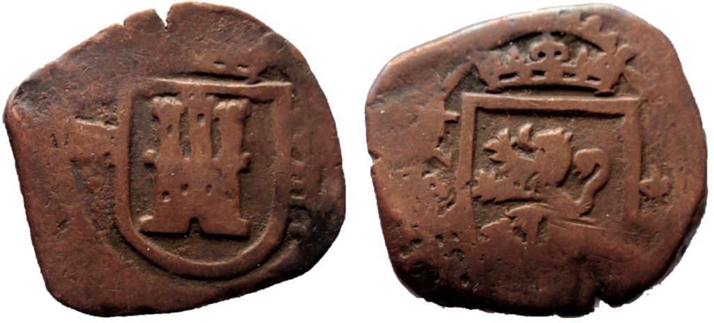 VIII maravedís de felipe IV  (Segovia 1624) 15-10