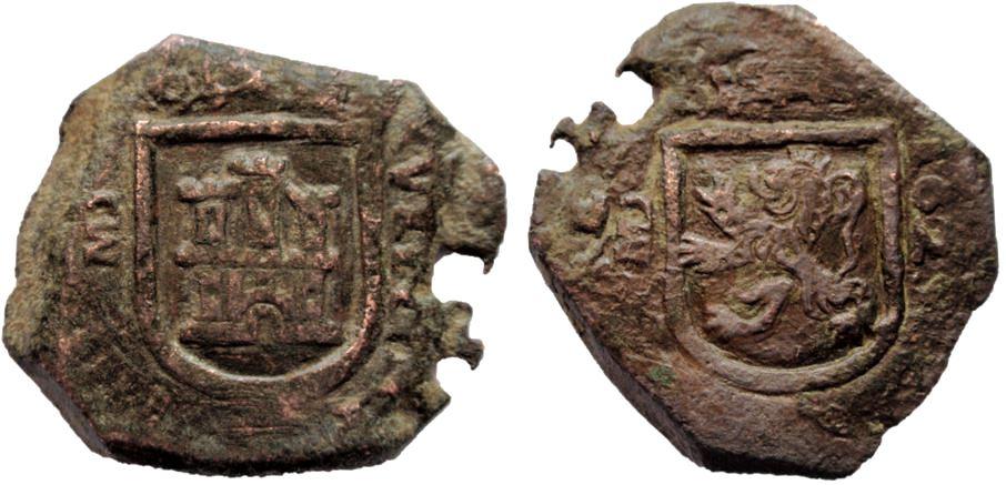 8 maravedís Felipe IV 1624 Madrid 2_1-10