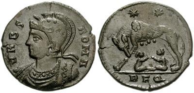AE3 Conmemorativa de Roma. VRBS ROMA. Roma 37003_10