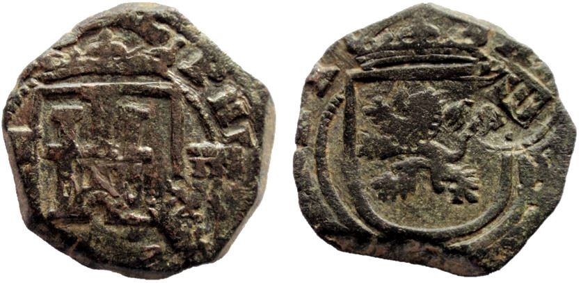 VIII maravedís de Felipe IV  (Segovia  1622) 7-10
