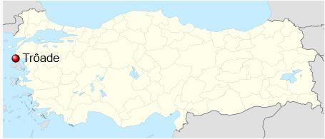AE19 de Alexandreia, Troas Alexan10