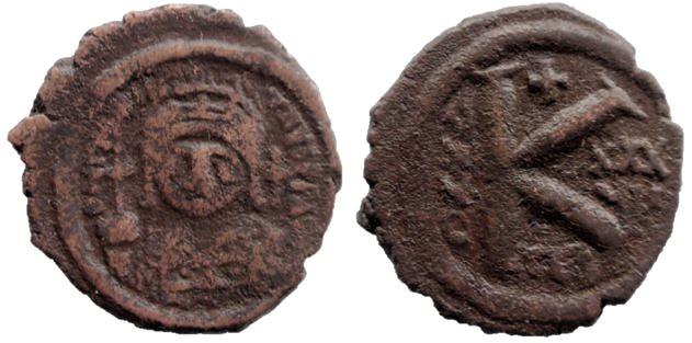 20 Nummi de Justiniano I Justin10