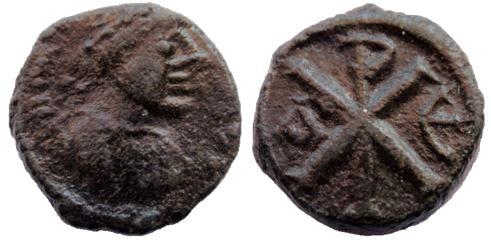 Pentanummi de Justino I Constantinopla Justin11