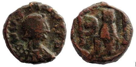 Pentanumi de Justino I Antioquia Justin12