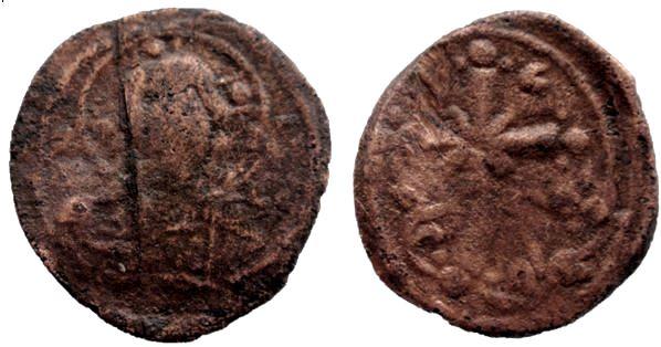 Follis Anonimo Classe I atribuído a Niceforo III Niceph10