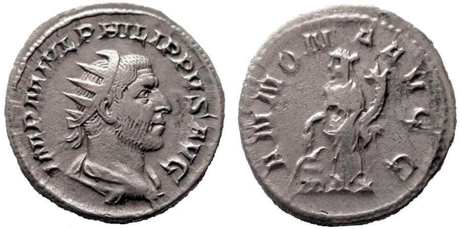 Antoniniano de Filipo I. ANNONA AVGG.  Philip11