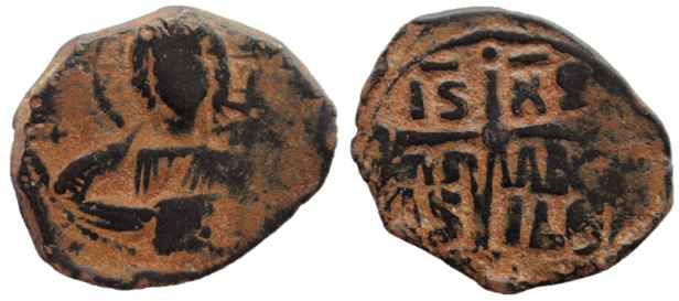 Follis de bronce anónimos, Clase B, atribuidos a Romanus III Romanu10