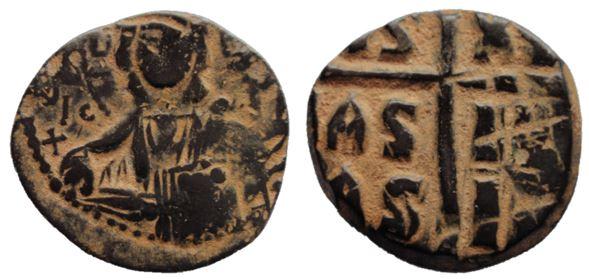 Follis de bronce anónimos, Clase B, atribuidos a Romanus III Romanu12