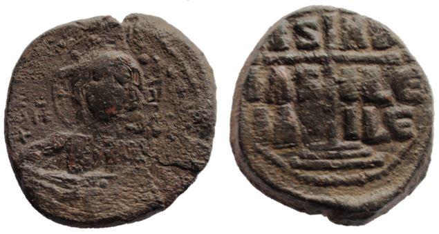 Follis de bronce anónimos, Clase B, atribuidos a Romanus III Romanu14
