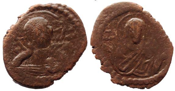 Follis anonimo atribuido a Romanus IV Romanu15