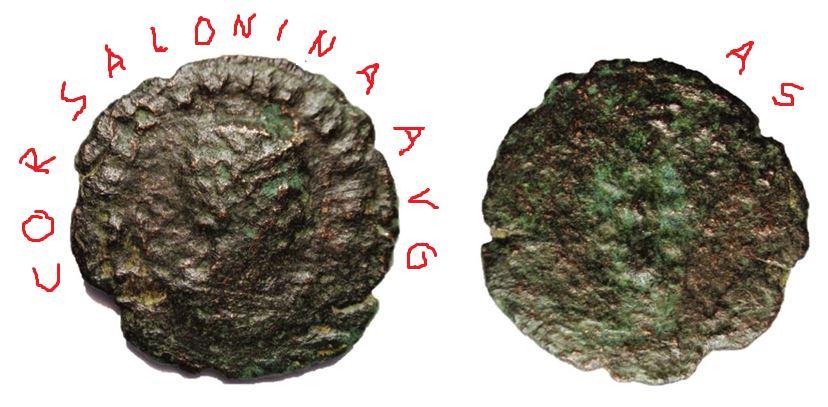 Antoniniano de Salonina. Saloni10