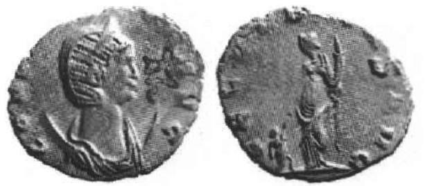 Antoniniano de Salonina. Saloni12