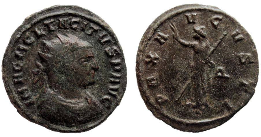 Aureliano de Tacito. PAX AVGVSTI. Siscia  Tacitu10