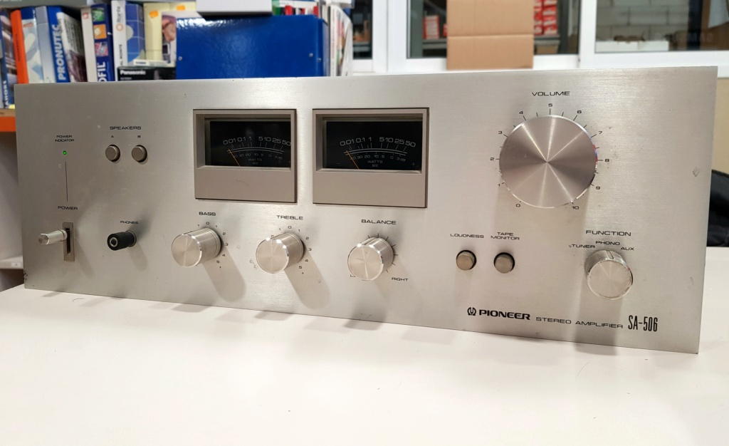 Pioneer SA-506.  Pionee10