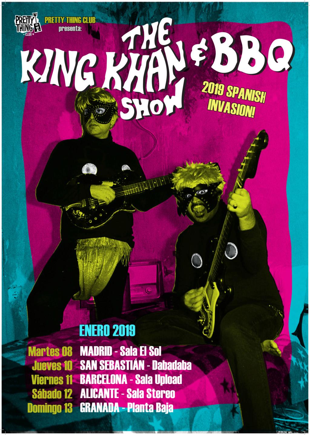 KING KHAN & BBQ SHOW en gira del 8-13 Enero 2019 Poster10