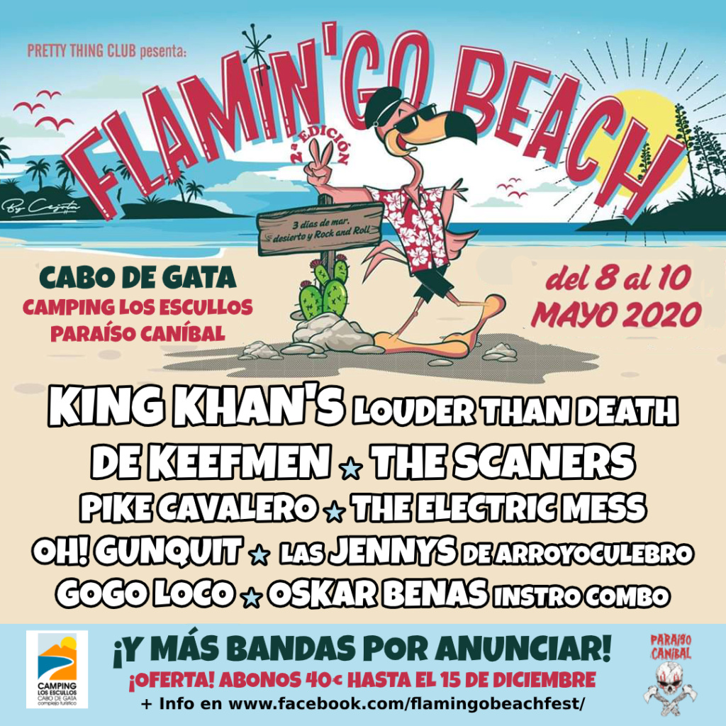 Flamin'Go Beach! 2020 / Cabo de Gata (Almería) Primeras confirmaciones Promo_11