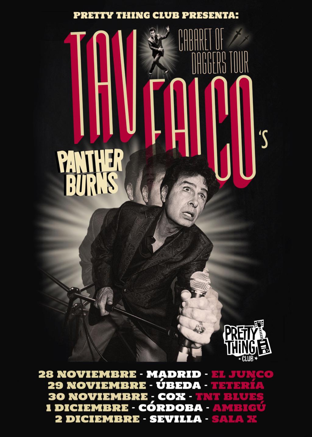 GIRA 40 ANIVERSARIO TAV FALCO'S PANTHER BURNS 28 NOV / 2 DIC Tav_fa10