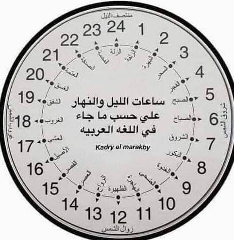 اسماء كل ساعة من الوقت على مدار اليوم Fb_img31