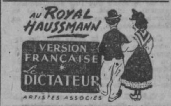 Le Dictateur (Charles Chaplin, 1940) Vf10