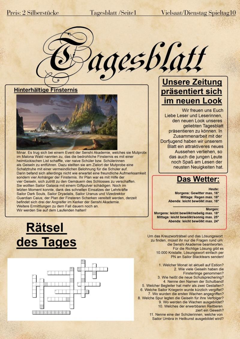 Tagesblatt Dienstag Spieltag 10 Test_110