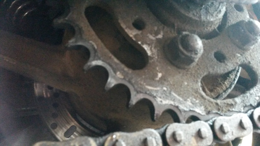 Any thoughts on if this rear sprocket is in need of a swap? 20180810