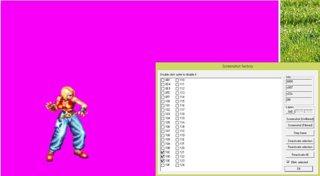 [Tuto] Ripper des sprites avec WinKawaks Screen26
