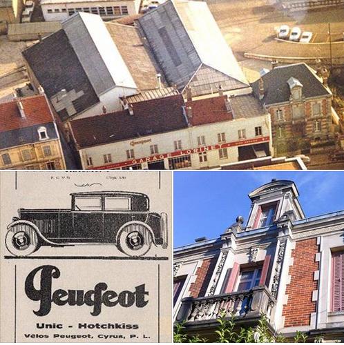 Cartes Postales Anciennes de garages PEUGEOT (Garages, Agences et Concessions) - Page 2 Garage10