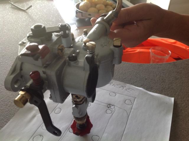 Carburateur 30BFHD appauvrisseur Image156