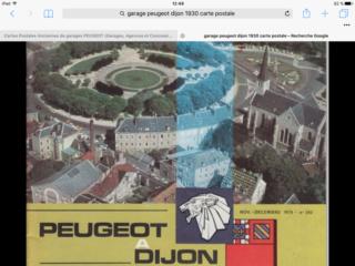 Cartes Postales Anciennes de garages PEUGEOT (Garages, Agences et Concessions) - Page 2 Image41