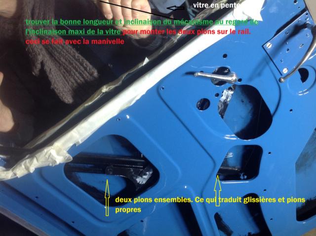 Démontage d'une vitre latérale sur 201 Montag11