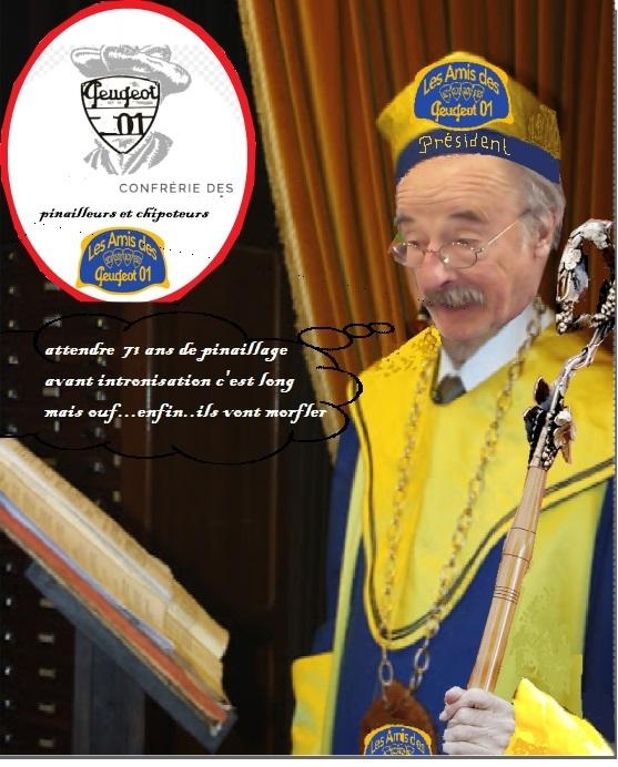Le président de la confrérie fête ses septante et une bougies « d'époque » Pina210
