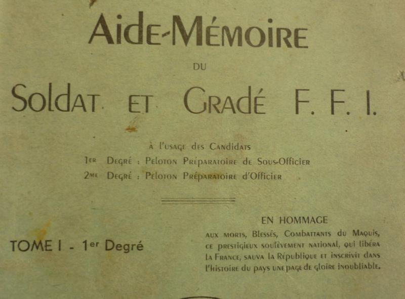 aide-mémoire du soldat et gradé FFI 05_310