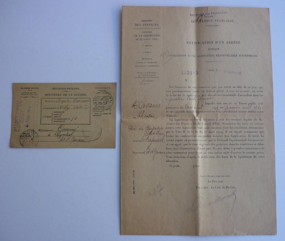 Trouvailles du week-end (drapeaux libé, cartes, papiers WW1...) 13_110